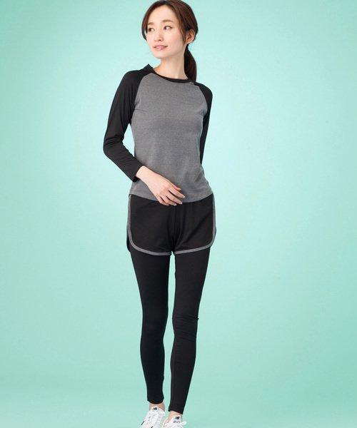 ホットヨガにおすすめな服装【6】50代女性: