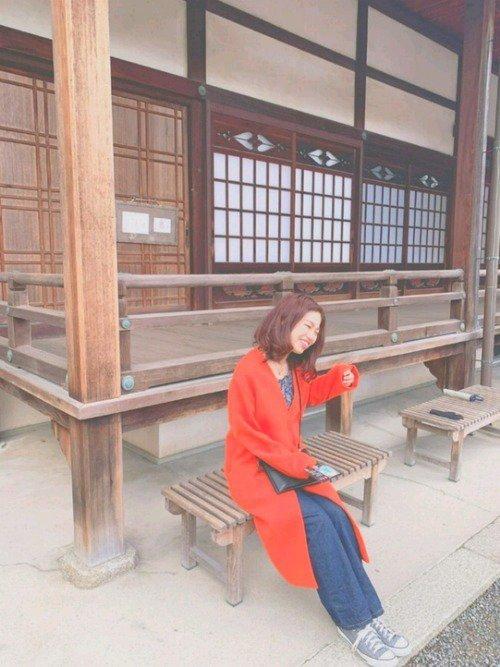 京都観光におすすめの服装【2】4月頃: