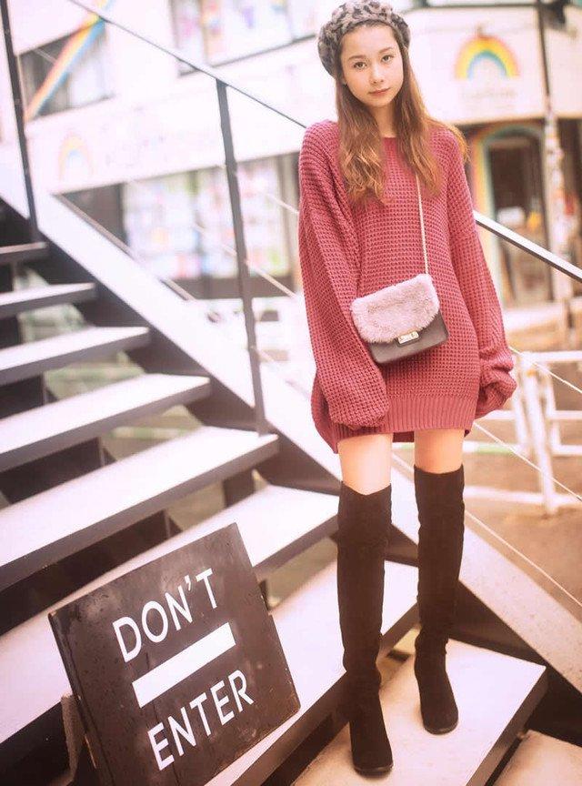 ロングブーツは年齢を問わずに楽しめるファッションアイテム