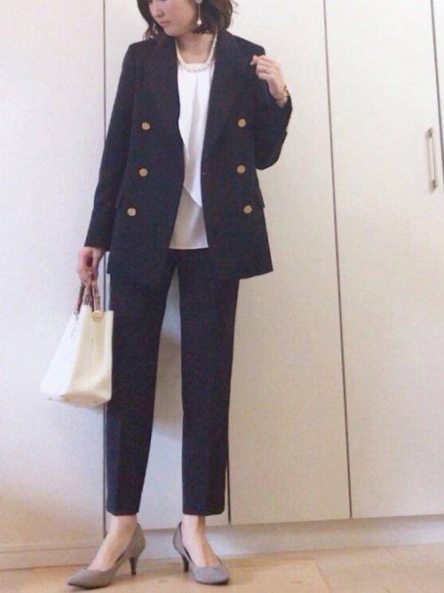 かっちり系パートの面接におすすめな服装【1】