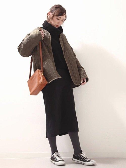 ベリーショートに合う冬ファッション