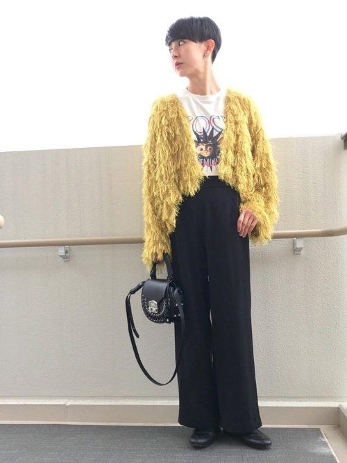 30代のベリーショートの女性に合うファッション