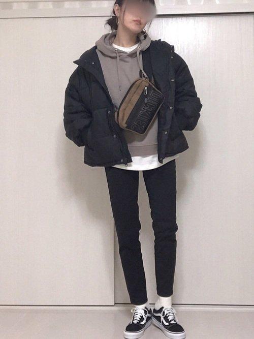 冬の大阪にはダウンジャケットとパーカーを使った服装がおすすめ