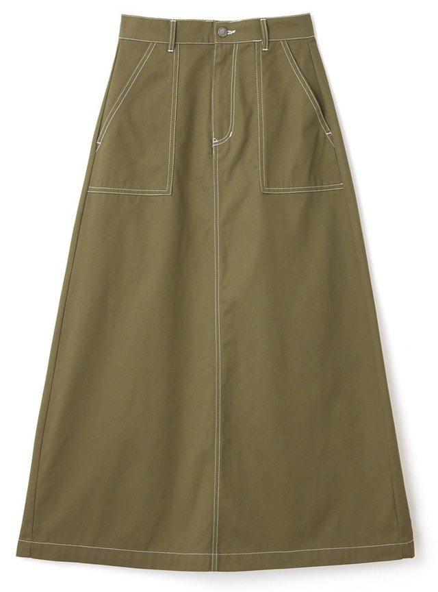 ベイカーコーデにおすすめのアイテム:カジュアルスカート